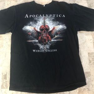 Anvil Concert T-shirt cool graphic VTG mens large